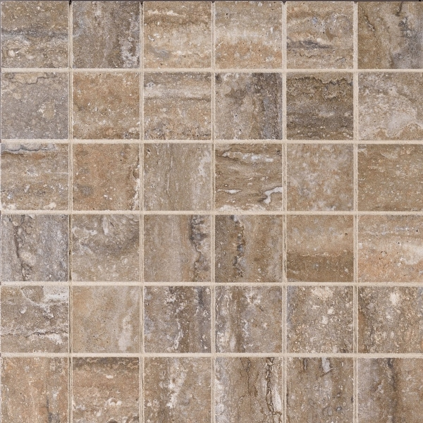 "MSI NVENE2X2 Veneto - 2"" Square Mosaic Tile - Matte Porcelain Visual - Sold by Carton (8 SF/Carton)"