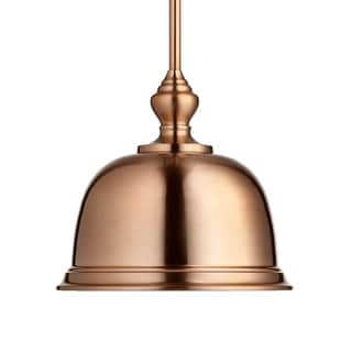 "Quorum International 803-14 14"" Wide Single Light Pendant with Metal Shade"