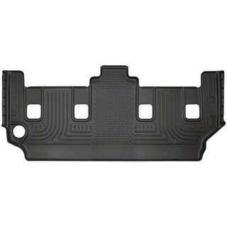 Husky Weatherbeater 2008-2016 Chrysler Town & Country Stow-N-Go 3rd Row Black Rear Floor Mats/Liners