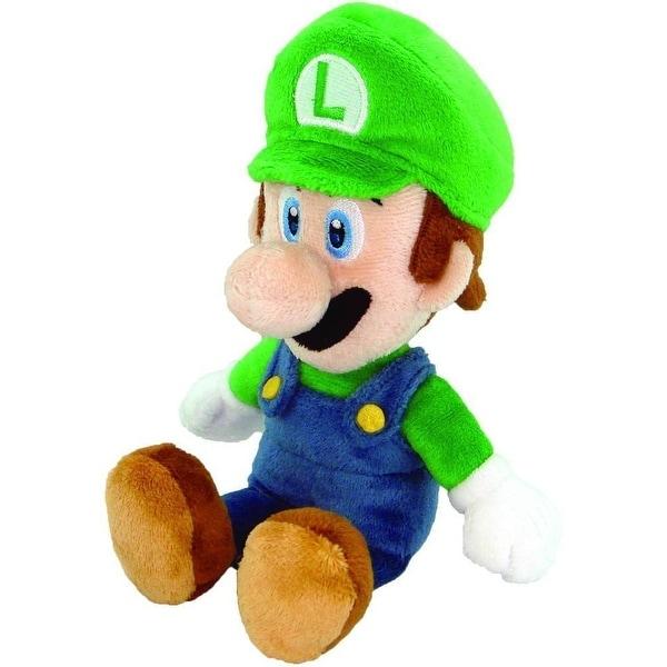 """Super Mario Bros. 9"""" Plush Luigi"""