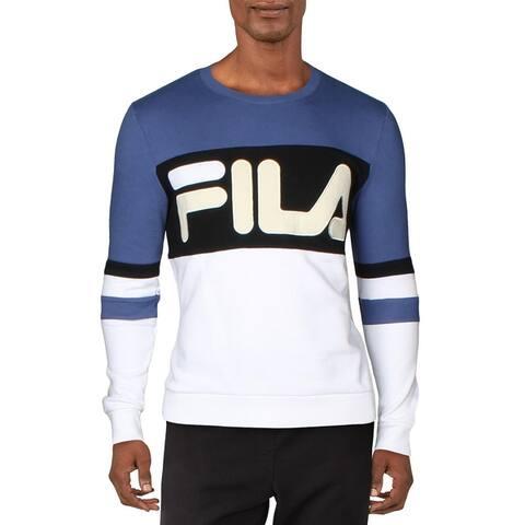 Fila Mens Freddie Sweatshirt Fitness Activewear