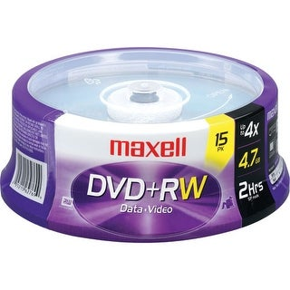 Maxell - Dvd+Rw 4.7 Spindle Rewritable 4X