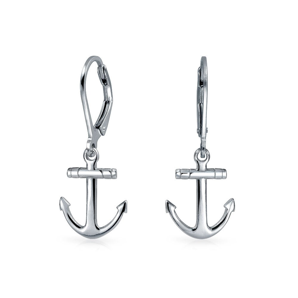 c1672c858 Shop Tiny Nautical Boat Anchor Leverback Dangle Earrings For Women For Teen  925 Sterling Silver - On Sale - Free Shipping On Orders Over $45 -  Overstock - ...