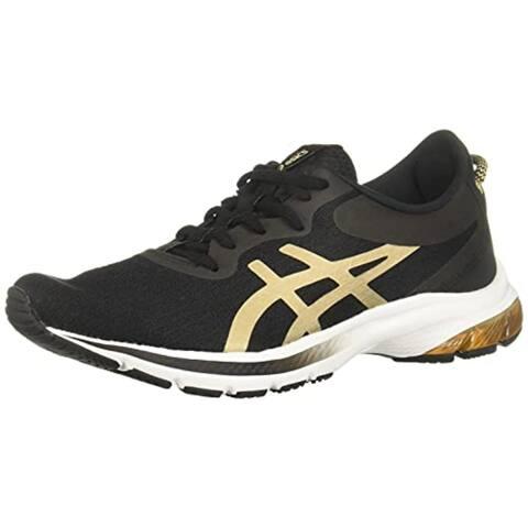 ASICS Women's Gel-Kumo Lyte 2 Running Shoes, Black/Champagne
