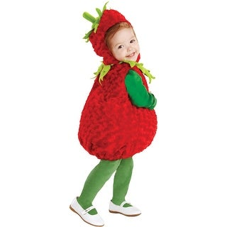 Underwraps Strawberry Toddler Costume - Solid