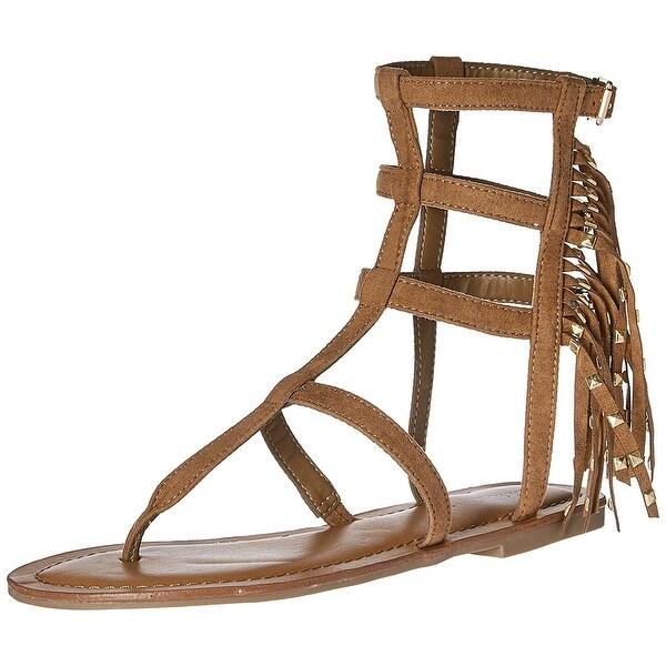 Indigo Rd. Womens Beth Open Toe Casual Strappy Sandals