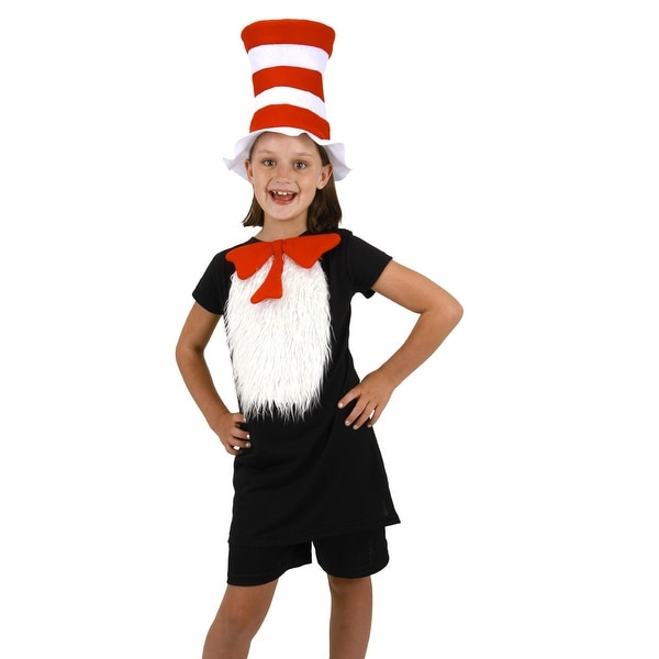 Dr. Seuss Cat In The Hat Child Costume Kit - Black