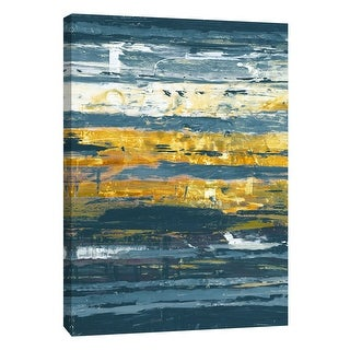 "PTM Images 9-108534  PTM Canvas Collection 10"" x 8"" - ""Unseen 2"" Giclee Abstract Art Print on Canvas"