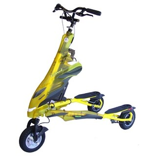 Trikke Pon-e Electric Scooter 48V T8H48V-YLCC with Battery Yellow