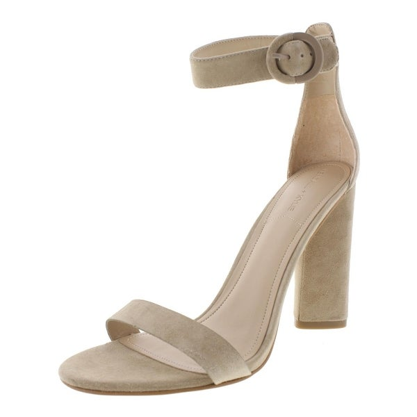 Kendall + Kylie Womens Giselle3 Dress Sandals Suede Ankle Strap