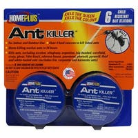 Home Plus AT-6ABMETAL Ant Bait Killer, 6pkg
