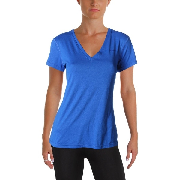 afc5bbc21c Shop Nike Womens Shirts   Tops Dri-Fit V-Neck - S - Free Shipping On ...