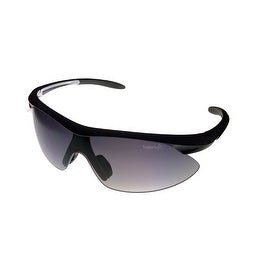 Timberland Sunglass Mens Pearl Black, Smoke Gradient Lens Plastic Wrap TB7070 1B - Medium