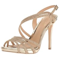 BADGLEY MISCHKA Womens Humble Open Toe Bridal Ankle Strap Sandals