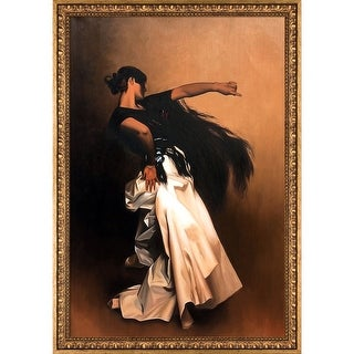 John Singer Sargent 'Study for Spanish Dancer, 1879-1882' Hand Painted Oil Reproduction