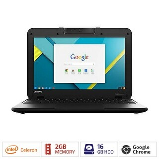 Lenovo N22 CEL-1 point 6 11 point 6TCH 2GB 16GB CAM BT CHRM 80VH0000US Notebooks