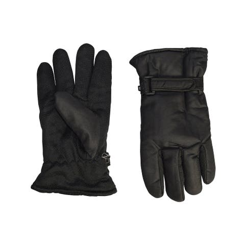 Mens Weatherproof Insulated Waterproof Winter Snow Ski Gloves