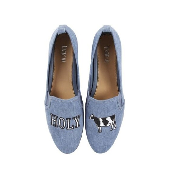 Bar III Opal Holy Cow Slip-on Shoes