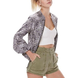 Free People High Rise Cargo Shorts Moss - 2