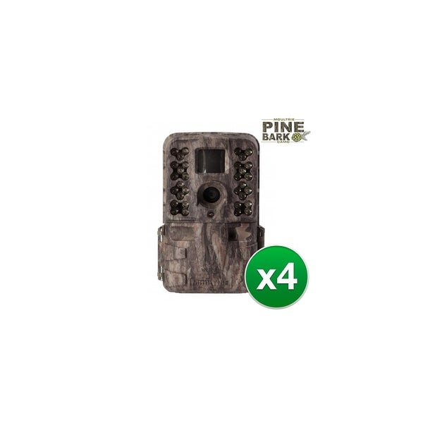 Moultrie MCG-13182 M-40i Game Camera w/ 1080p Full HD Video & 16 MP Resolution (4 Pack)