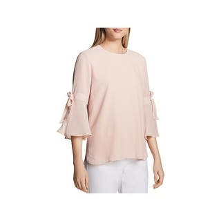 560a88c462 Calvin Klein Womens Casual Top Striped Bell Sleeves · Quick View