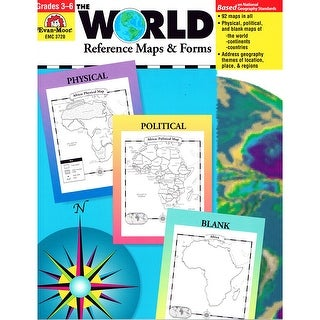 The World Reference Maps & Forms Gr 3-6