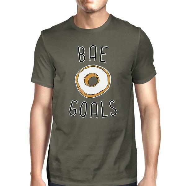 Bae Goals Men's Dark Grey T-shirt Creative Anniversary Gift Ideas