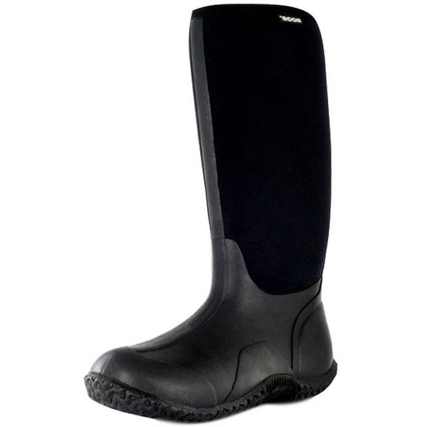 Bogs Outdoor Boots Womens Neo-Tech Classic High Farm WP Black