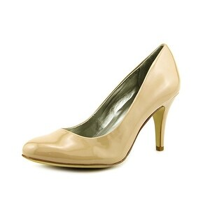 Style & Co Blossomm Women  Round Toe Synthetic Nude Heels