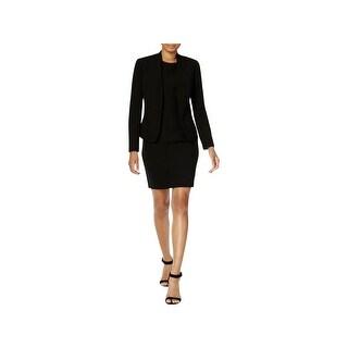 Anne Klein Womens Dress Suit Shawl-Collar Above Knee