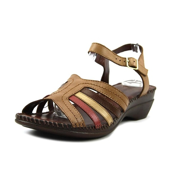 Auditions Rumba Women W Open Toe Leather Sandals