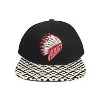 HOOey Hat Mens Baseball Cap Quanah One Size Black