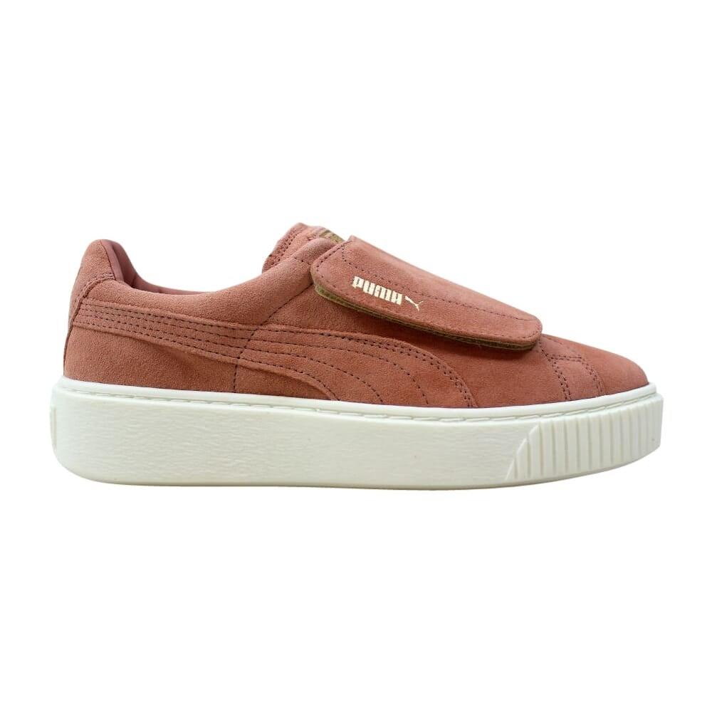 Puma Suede Platform Strap 364586 01 ladies sneaker gym shoes olive green NEW