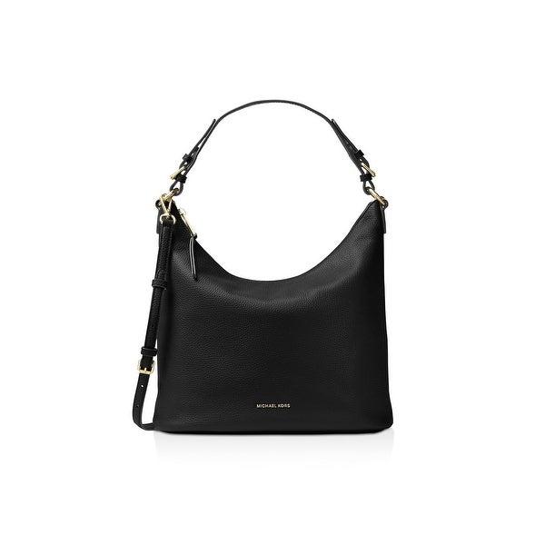 Shop MICHAEL Michael Kors Womens Lupita Hobo Handbag Leather Pebbled ... 62945a3649db8