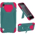 Insten Hard PC/ Silicone Dual Layer Hybrid Case Cover with Stand For HTC Desire 530 - Thumbnail 2