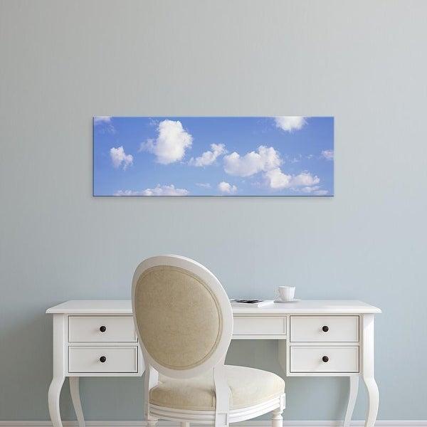 Easy Art Prints Panoramic Images's 'USA, Illinois, Low angle view of the clouds in the sky' Premium Canvas Art