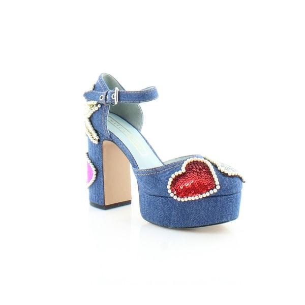 Marc By Marc Jacobs Katie Women's Sandals & Flip Flops Denim - 5.5