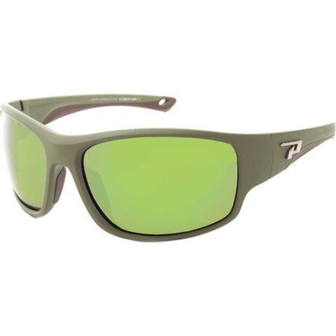 403c2cfaacc14 Peppers Sweetwater Sunglasses Matte Moss Green Brown Polarized Flash Mirror  - US One Size