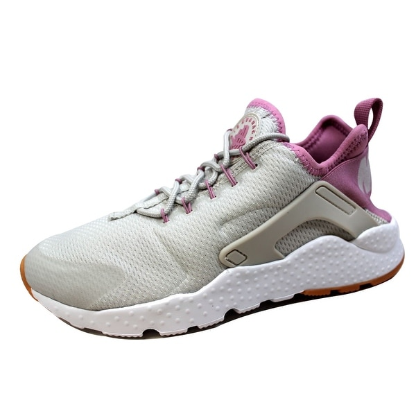 Nike Women's Air Huarache Run Ultra Light Bone/Orchid-Gum Yellow 819151-009