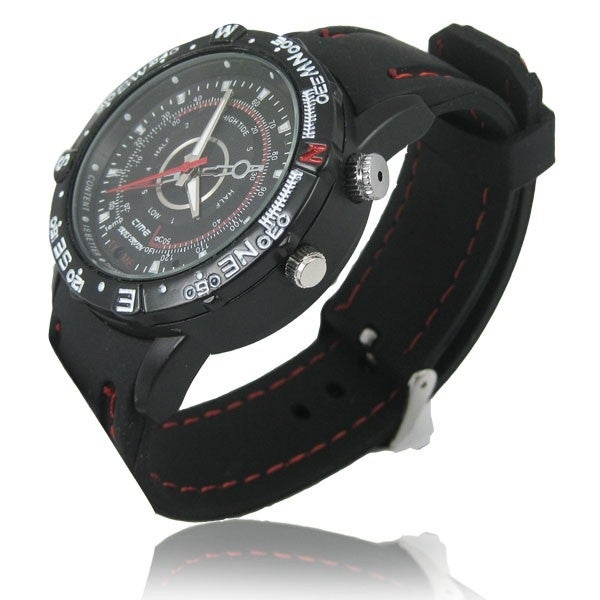 Spytec Water-Resistant 720P Hd Video Watch With 8 Gb Internal Memory &120 Minutes Battery Life