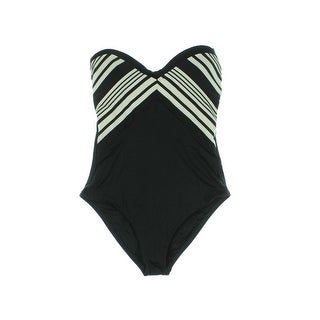 Vitamin A Womens Bandeau Sweetheart Neckline One-Piece Swimsuit