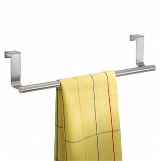 InterDesign Stainless Steel Over The Counter Towel Bar, 14 in.