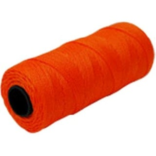 Marshalltown ML588 Twisted Nylon Mason's Line #18x1000', Orange