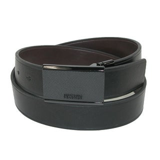 Kenneth Cole Reaction Men's Plaque Buckle Reversible Belt