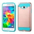Insten Dual Layer Hybrid Rubberized Hard PC/ Silicone Case Cover For Samsung Galaxy Grand Prime - Thumbnail 0