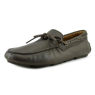 Hogan Scottie A Round Toe Leather Loafer