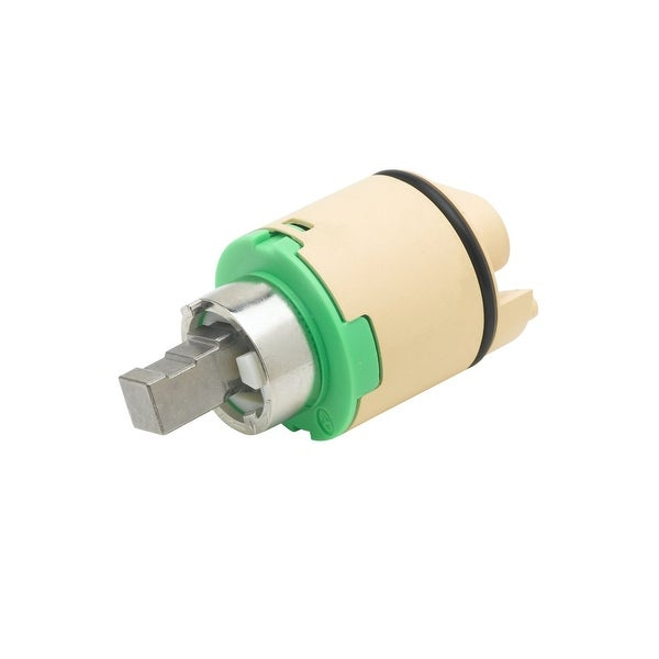 T and S Brass 013111-45 Ceramic Metal Stem Cartridge for B-2710 and B-2711 Single Lever Faucets