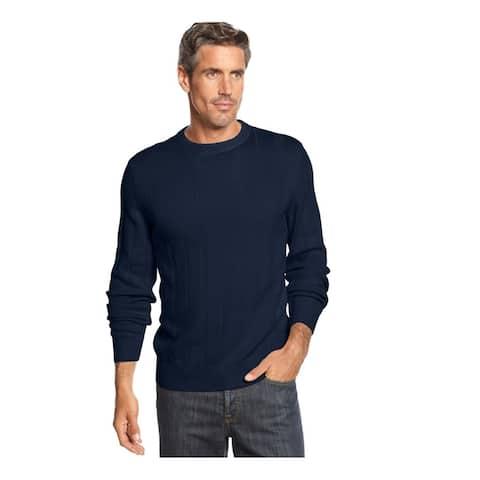 John Ashford Mens Ribbed Pullover Sweater
