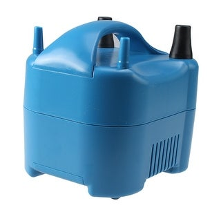 AGPtek Two Nozzles High Speed Electric Balloon Inflator Air Pump