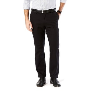Link to Dockers Mens Pants Solid Black Size 38x32 Straight Fit Khakis Stretch Similar Items in Big & Tall